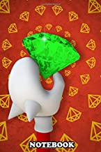 Notebook: Chaos Emeralds Are Forever , Journal for Writing, College Ruled Size 6