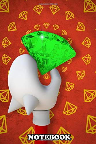 Notebook: Chaos Emeralds Are Forever , Journal for Writing, College Ruled Size 6' x 9', 110 Pages