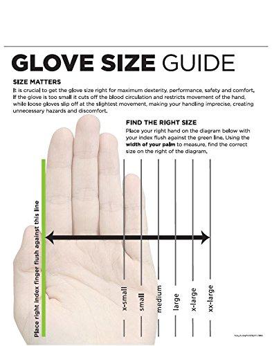 Flexible General Purpose Work Glove 12 Pair Black Small SHOWA 370BS-06.RT 370B Lightweight