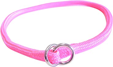 Hamilton Round Braided Choke Nylon Dog Collar