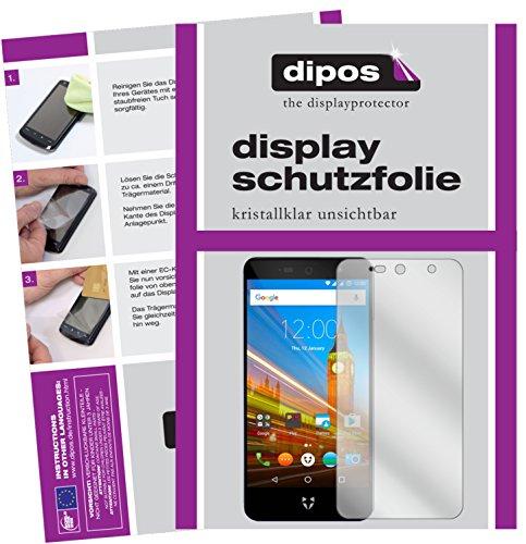 dipos I 2X Schutzfolie klar kompatibel mit Wileyfox Swift 2X Folie Bildschirmschutzfolie