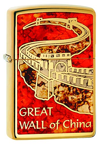 Zippo Zippo Sturmfeuerzeug 60002837 Great Wall of China - High polish Brass with Fusion - Special Editions 2016/2017 High Polish Brass With Fusion (Great Wall Of China )