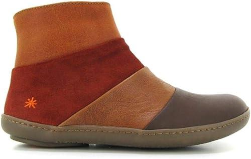 Art The Art Company Kio Multi Leather Cuero Ankle bottes UK 4