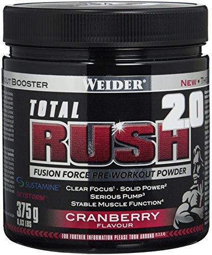 Weider Total Rush 2.0, Cranberry, 1er Pack (1 x 375 g)