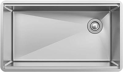 """Elkay EFRU30169RTWC Workstation Sink, 31-1/2"""", 16 Gauge"""