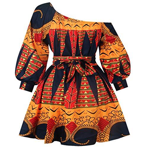 Mini Vestido Dashiki para el uso diario