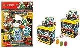 Blue Ocean Lego Ninjago Serie 5 Next Level -1x Starter + 2 Displays 100 Booster Tüten Trading Cards zusätzlich erhalten Sie 1 x Fruchtmix Sticker-und-co Bonbon