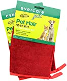 Evercare Pet Hair Remover Glove Pic-Up Mitt - 2 Pack