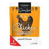 Osso Good Chicken Bone Broth,  3 - 16 Ounce Pouches, High in Protein & Collagen, Ships Frozen