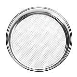 Mdsfe Setaccio per Farina da setaccio per Fagioli da Cucina con Filtro da Laboratorio - 35 Mesh 0,5 mm, Diametro 30 cm