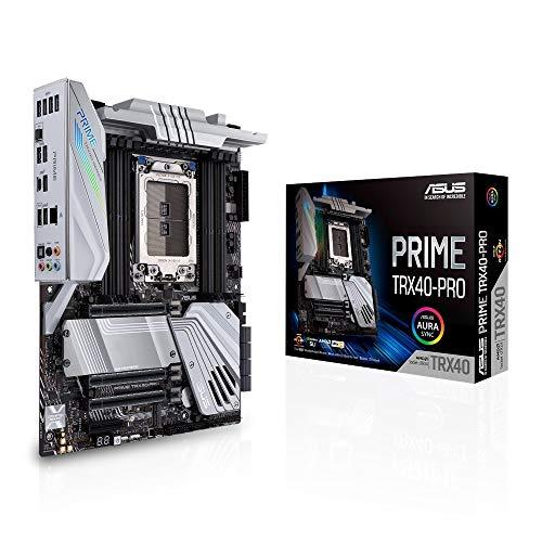 ASUS Prime TRX40-Pro Gaming Mainboard Sockel AMD sTRX4 (ATX, DDR4-Speicher, PCIe 4.0, M.2, USB 3.2 Gen 2 Typ-C, Aura Sync)