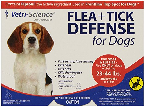VetriScience Laboratories Flea + Tick Defense for...
