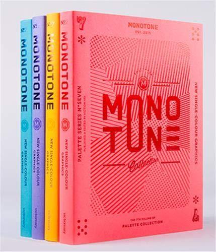 Monotone: New Single-Colour Designs, surtido: varios colores (Victionary)