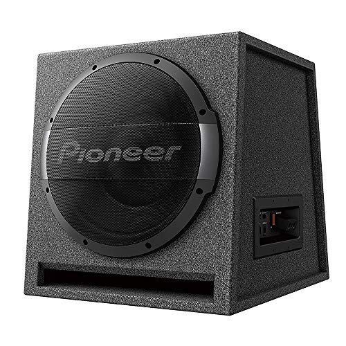 Find Bargain PIONEER TS-WX1210AH 12 Ported Enclosure Active Subwoofer with Built-in Amplifier