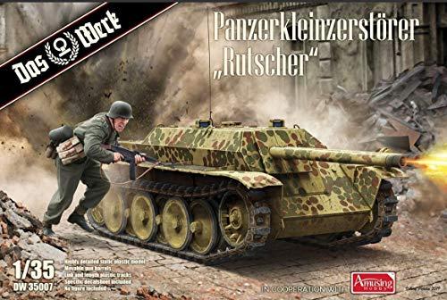 ダス・ヴェルク 1/35 ドイツ軍 軽戦車駆逐車 ルットシャー プラモデル USCDW35007