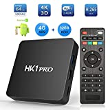 Android TV Box 7.1 - SeeKool Smart TV Box [2018 Ultima Generazione] Amlogic S905W Quad-Core A53 Processor 64 Bits, 2GB RAM & 16GB ROM, 4K UHD H.265, 2 Porte USB, HDMI, 2.4GHz WiFi