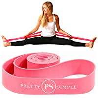 Premium Exercise PS Athletic Ballet Stretch Band for Dance, Gymnastics, Cheerleading, Pilates. Improves Flexibility, Stretching and Helps Prevent Injury.! by Pretty Simple