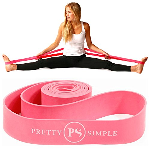Ballet Stretch Band for Dance, Gymnastics, Cheerleading, Pilates. Improves Elastic Flexibility and Enhances Daily Stretching - Designed by PS Athletic for Use in 2020