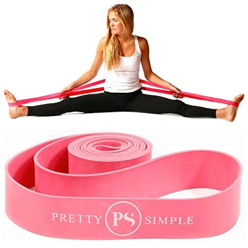Banda elástica de ballet para danza, gimnasia, animadoras, pilates. Mejora la flexibilidad elástica y mejora el estiramiento diario – Diseñado por PS Athletic para su uso en...