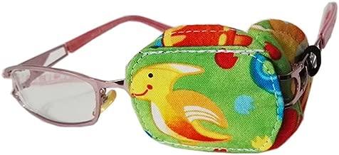 Unicornio Ojo Derecho Fancy Pumpkin Dibujos Animados creativos Parche en el Ojo Gafas Individuales Cubierta Lazy Eye Tratamiento de ambliop/ía para ni/ños