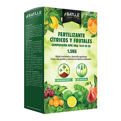 Semillas Batlle 710660UNID Engrais Agrumes et Arbres fruitiers 1,5 kg