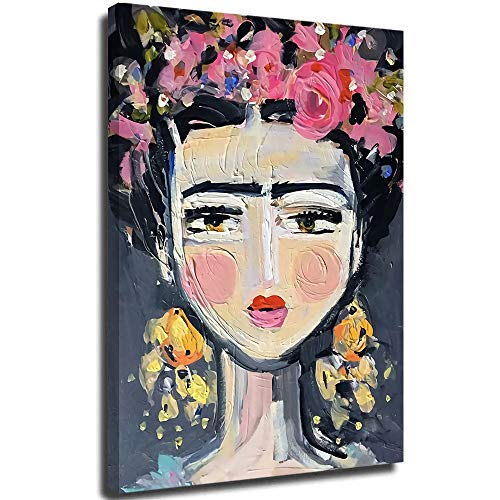 Hangquq Self-portrait Art Oil Painting Reproduction livingroom Bedroom Dinning Room Decorative Pictures Home Decor 18'x24'