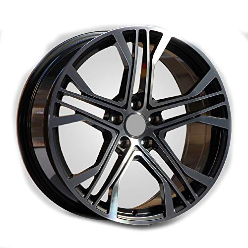 GYZD Alu Felgen 16 Zoll Durchfluss geschmiedete Radlegierung Ersatzrad Auto Rad Maschine Aluminium Felge Passend für R16 *7J Reifen Geeignet für a4l a6l a3 a4 a7 a5 q7 1 Stück,Q