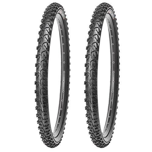 Kujo 2 x Reifen für Mountainbikes 24 Zoll 24 x 1.95
