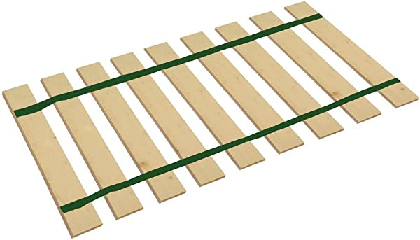 The Furniture Cove Queen Size Bed Slats Platform Bunkie Boards Custom Width With Dark Green Straps Help Support Your Box Spring And Mattress Made In The U S A 61 Wide