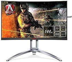 AOC AGON 3 AG273QCX Curved 2560 x 1440 Quad HD Gaming Monitor (Renewed)