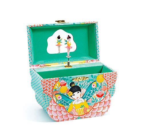 DJECO- Caja de música Flowery Melody Cajas (36081)