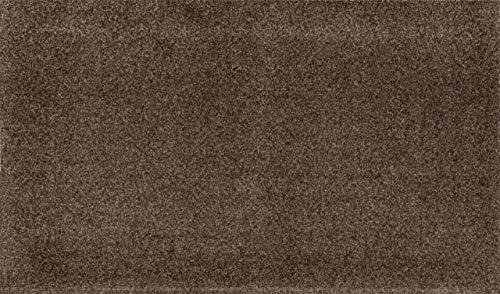 Wash + Dry Fußmatte, Acryl, Braun, 50 x 70 cm