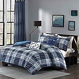 Intelligent Design Camilo 5 Piece Comforter Set Blue Full/Queen (ID10-379)