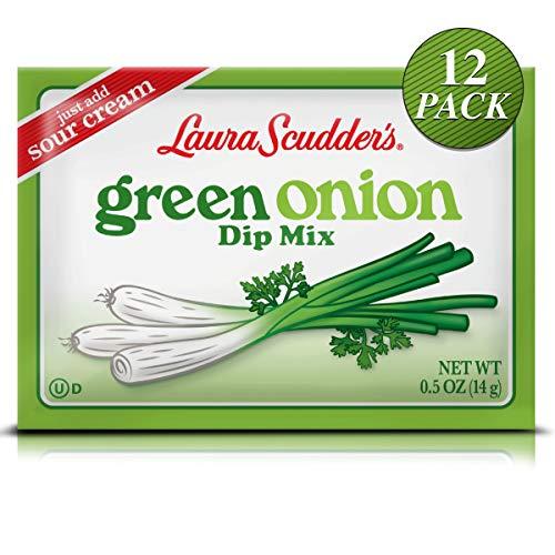 Laura Scudder's Green Onion Dip Mix Seasoning Powder Sauce (12 PACK)