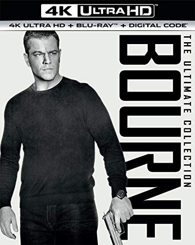 Bourne Ultimate Collection (4K Uhd)