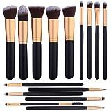 15 Pcs Makeup Brushes Set Kabuki Foundation Contour Blending Blush Concealer Face Eye