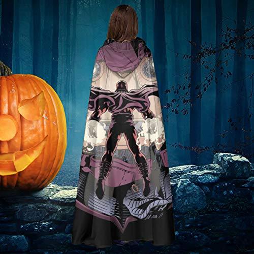 AISFGBJ X Herren Magneto Magneto Konfrontation Unisex Weihnachten Halloween Hexe Ritter Kapuzenmantel Vampir Umhang Umhang Cosplay Kostüm