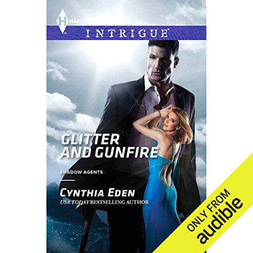 Glitter and Gunfire audiobook cover art