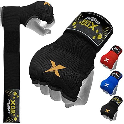 XN8 Boxen Innenhandschuhe Handschuhe Hochwertige Gel Box-Handschuhe für Kampfsport, MMA und Martial Arts