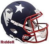 New England Patriots AMP Alternate Series Riddell Speed Full Size Replica Football Helmet - NFL Replica Helmets