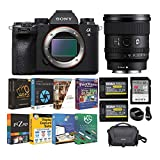 Sony Alpha a9 II Full Frame Mirrorless Camera with 20mm f/1.8 G Series Lens and Accessory Bundle (6 Items)