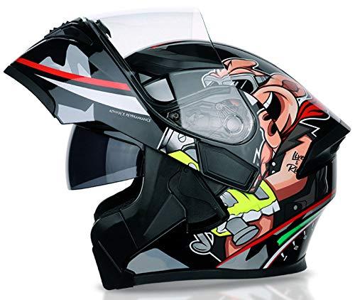 NFJ Motorrad-Helm,Integral-Helm · Full-Face Motorrad-Helm Roller-Helm Scooter-Helm,Klapp-Helm Modular-Helm Flip-up Integral-Helm Motorrad-Helm Roller-Helm Full-Face Scooter-Helm,Style6-XL