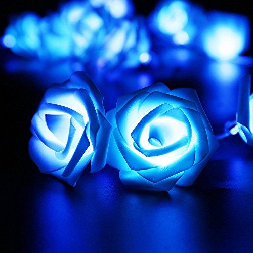 ILOVEDIY 20 Rattan-Ball 2.2M Lichterkette String Lights - Ideal für Hochzeit, Weihnachten, Party, Heim-Dekoration