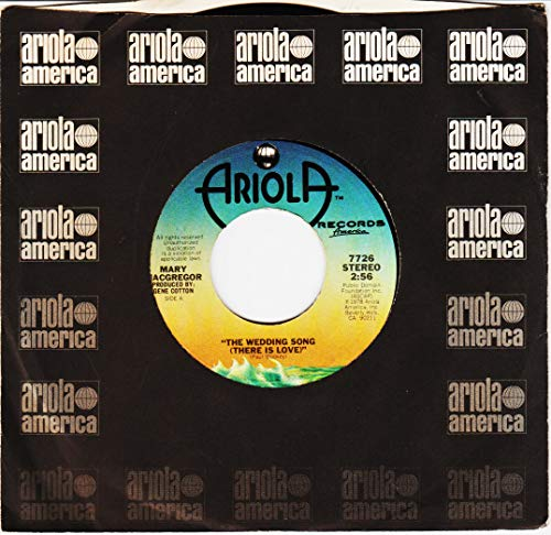 The Wedding Song (There Is Love) / Benjamin - 45 Rpm