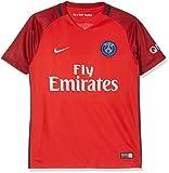 Nike Paris Saint Germain Yth Ss Aw Stadium Jsy Camiseta de Manga Corta, niño, Rojo (Challenge Red / Team Red / White), L