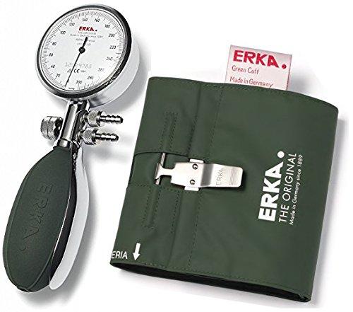 Perfect-Tensiómetro ERKA Aneroid 56 mm, incluye ganchos de pulsera