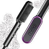TYMO - Cepillo alisador de cabello rizado TYMO con 20 s de c
