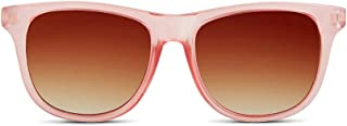 Hipsterkid BPA Free, Warranty Protected, Polarized Sunglasses for Babies, Ages 0-2, in Rose from The Golds Collection