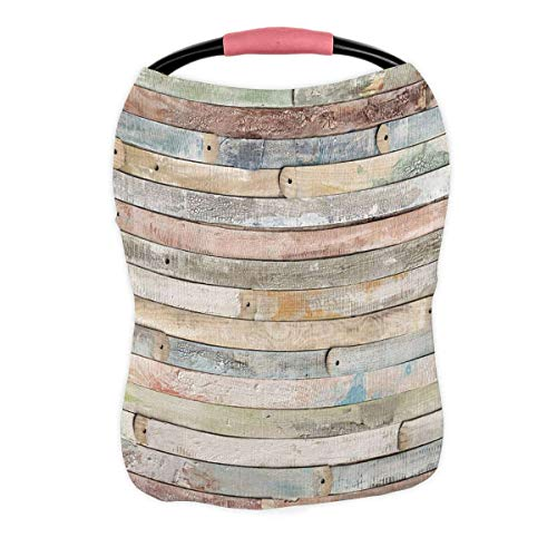 Purchase Rustic Old Barn Wood Nursing Cover Baby Breastfeeding Infant Feeding Cover Baby Car Seat Co...