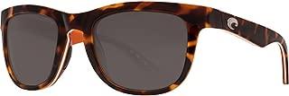 Costa Del Mar Copra Shiny Retro Tort/Cream/Salmon Sunglasses